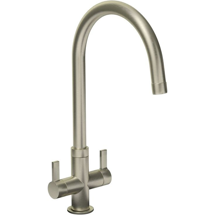 Find Petite Dual Handle Monobloc Kitchen Tap - Brushed at Homebase. Visit your local store for the widest range of kitchens products.