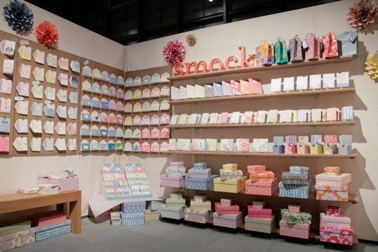 I think I would absolutely DIE at #NYIGF. I think I would spend wayyy more money than I could ever admit, either. So far, I really like this Smock booth- so colorful!