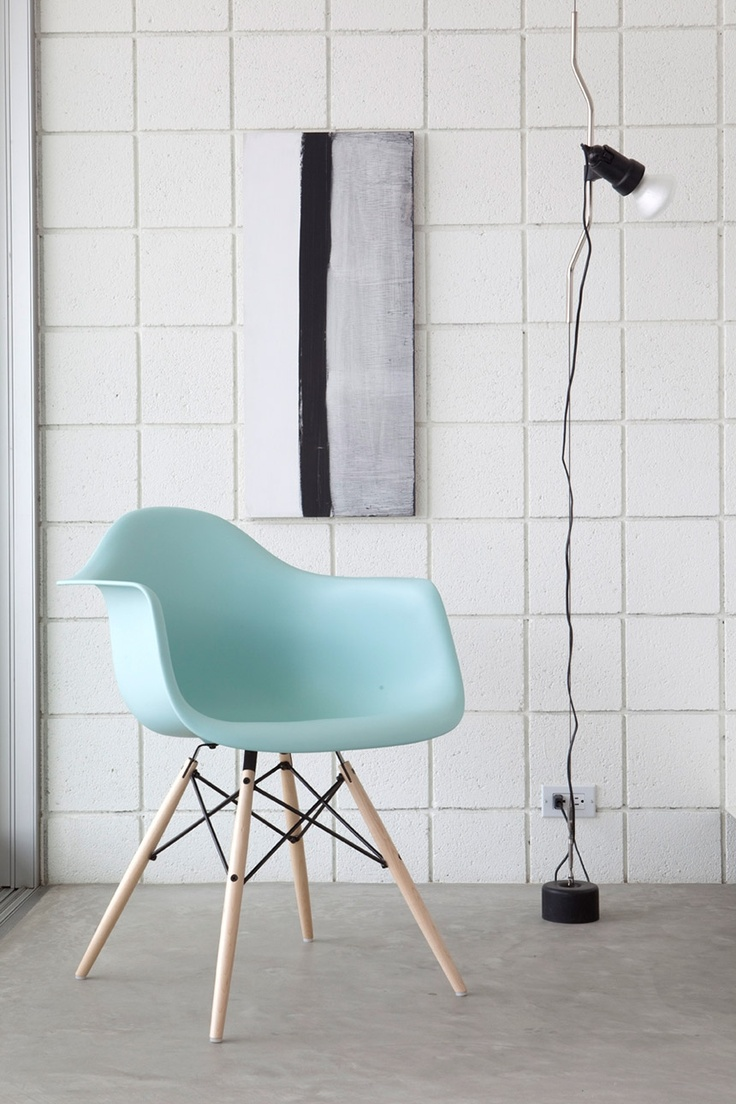 New trend painted chairs with dipped or raw legs jelanie - Herman Miller Eames Daw Molded Plastic Armchair With Dowel Leg Base