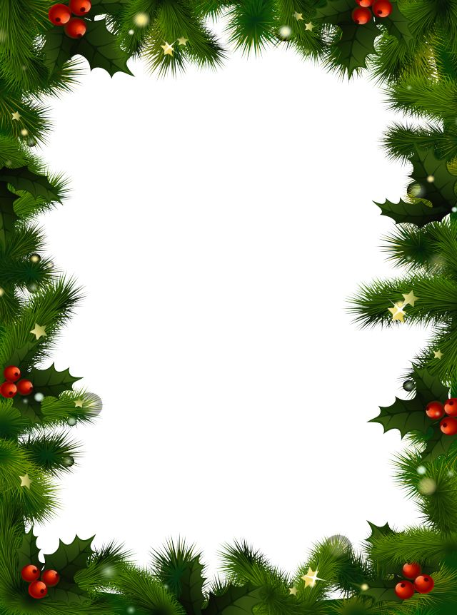 Légend image within free christmas clipart borders printable