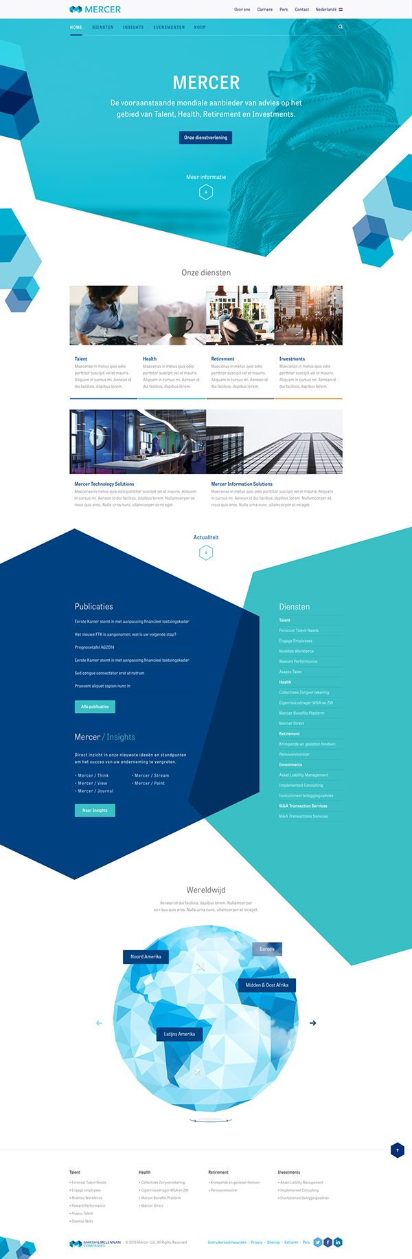 Mercer on Web Design Served