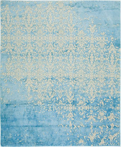 Hand Knotted, silk and wool Jan Kath