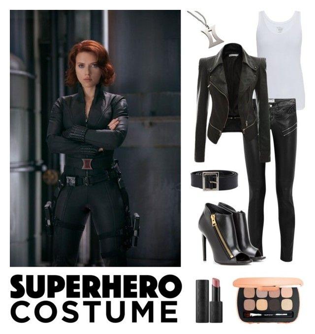 """Superhero Costume: Black Widow"" by nabilaclydea liked on ..."