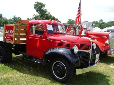 vintage flatbed truck for sale | Lent Antique Truck Works restoration, a 1947 Dodge flatbed truck ...