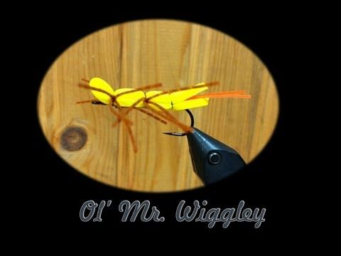 How To Tie Ol Mr Wiggley Sailing Pinterest Fly Tying