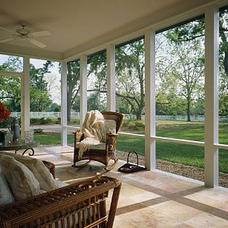 Charming Someday Screened In Porch