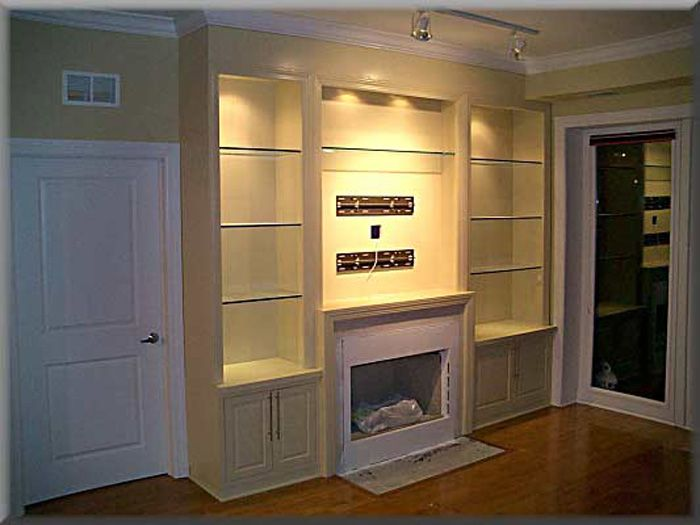 Built in Bookshelves around Fireplace Pictures of Built in