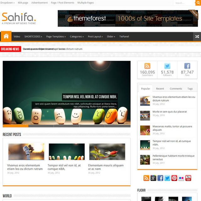 Sahifa V5 3 0 Responsive Wordpress Theme Free Download Down