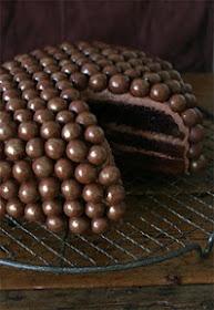 Chocolate christmas cake!