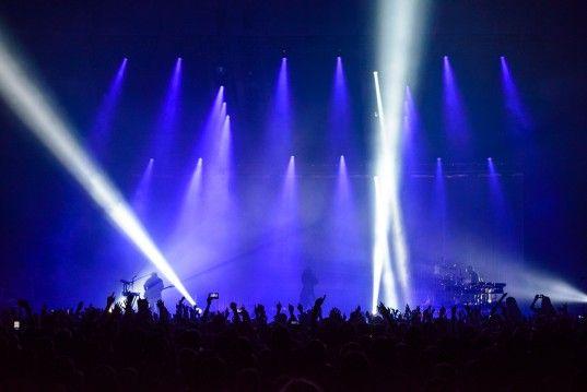 """Oscar-Anwärter Jared Leto spielte am Mittwoch, 27.02.2014, mit seiner Band """"30 Seconds To Mars"""" in der TUI Arena in Hannover."""