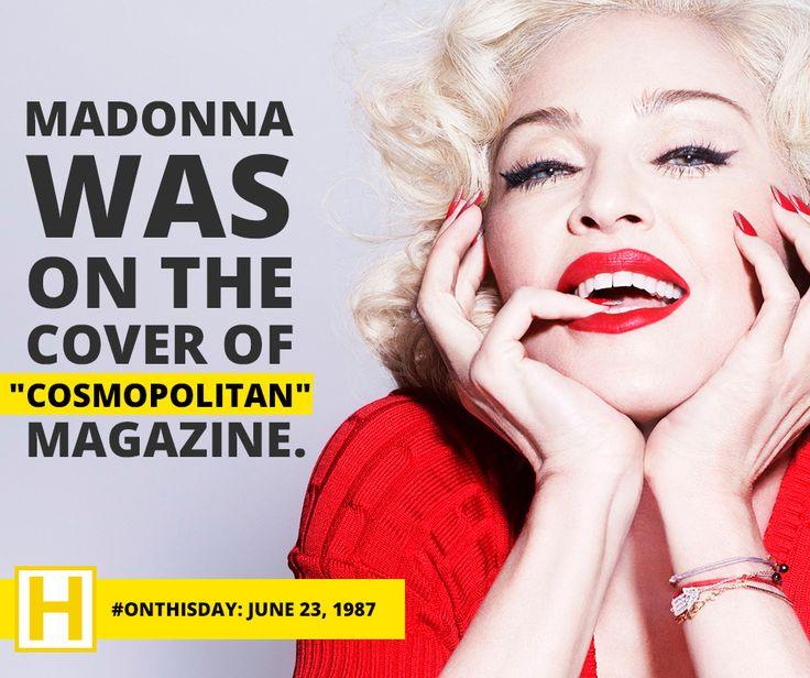 Madonna + Cosmo = <3