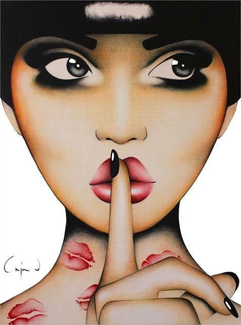 ANJA VAN HERLE - Quiet Kisses 20's style