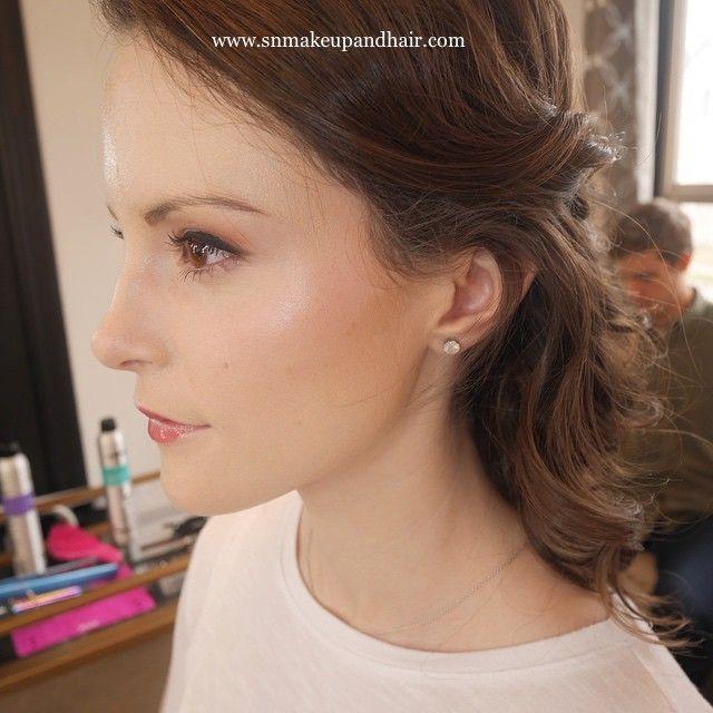 Bridal Hair Makeup Bride Soft Natural Etherial Style English Rose