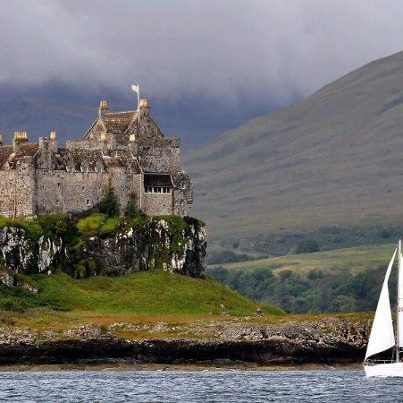MacKennas came to America in 1630. settled in Pittsburgh. My direct ancestors. #Scotland Castle