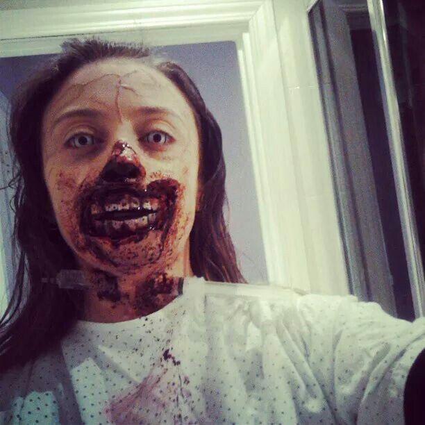 Vero 1 halloween 2013. Makeup.