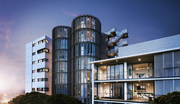 HASSELL transforms industrial silos into apartments at Sydney's Summer Hill | Architecture And Design
