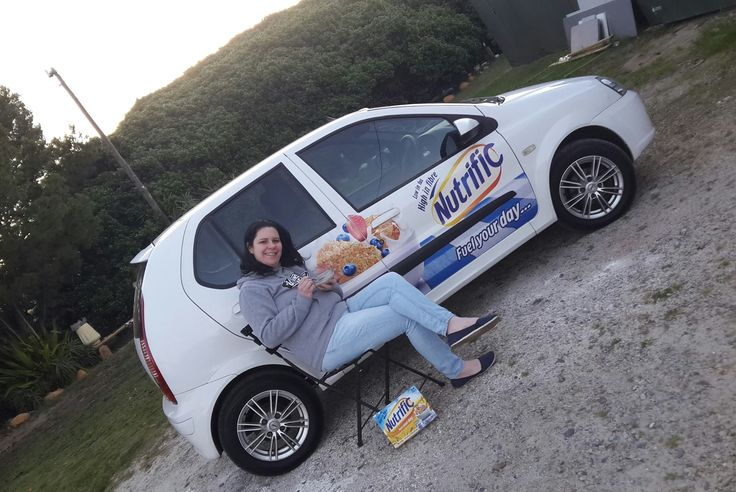 One of our #NutrificSA drivers getting paid to get the conversation started. #EarnExtraCash #BrandYourCar #Bucks4Influence #1000Ways