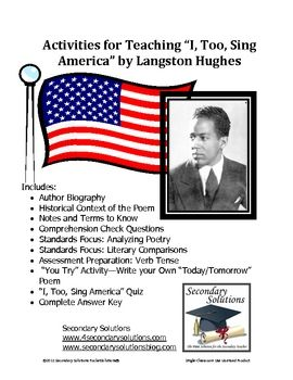 """langston hughes c c essay Langston hughes' poem """"dream deferred"""" essay sample langston hughes was part of the harlem renaissance and was known as """"the poet laureate of harlem"""" his poems tell of the joys and miseries of the ordinary black man in america."""