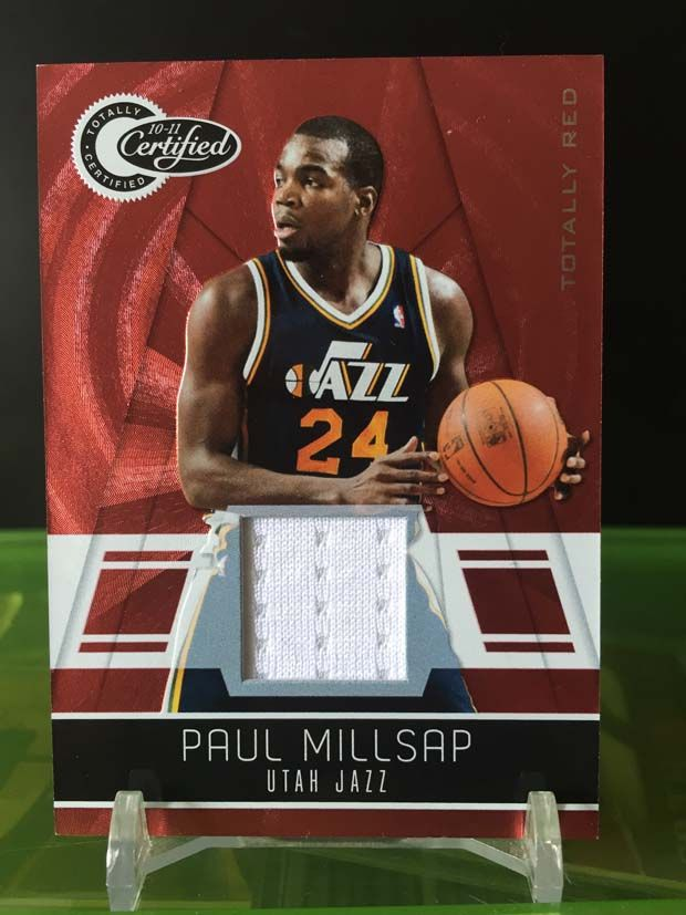 Paul Millsap Cards – 2010/11 Panini Totally Certified Basketball (Totally Red)