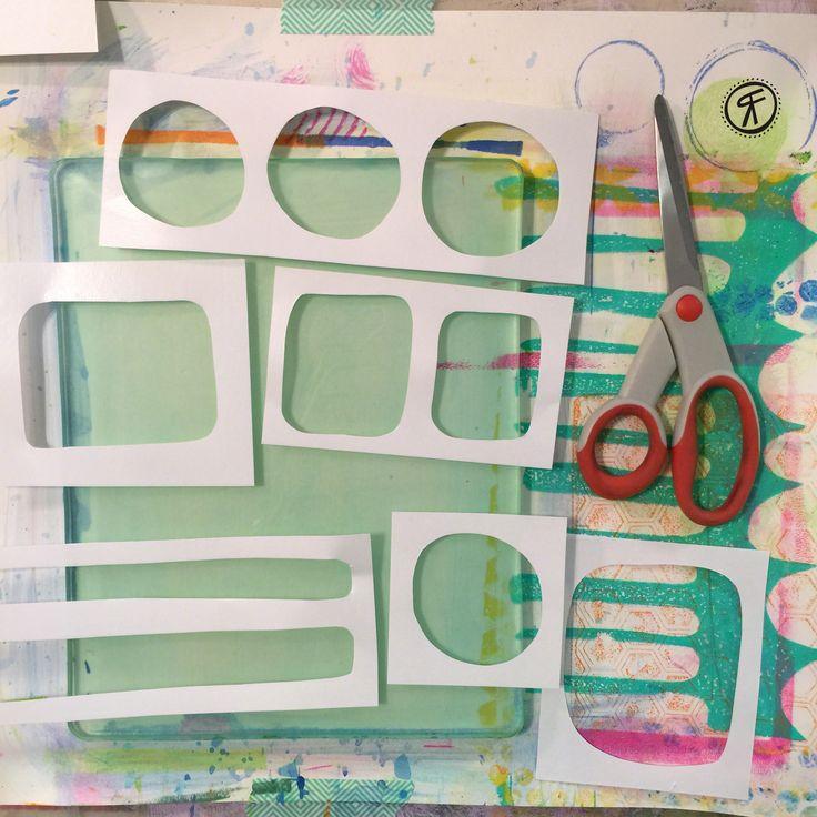 Rachel Fontenot - Gelli Plate Printing