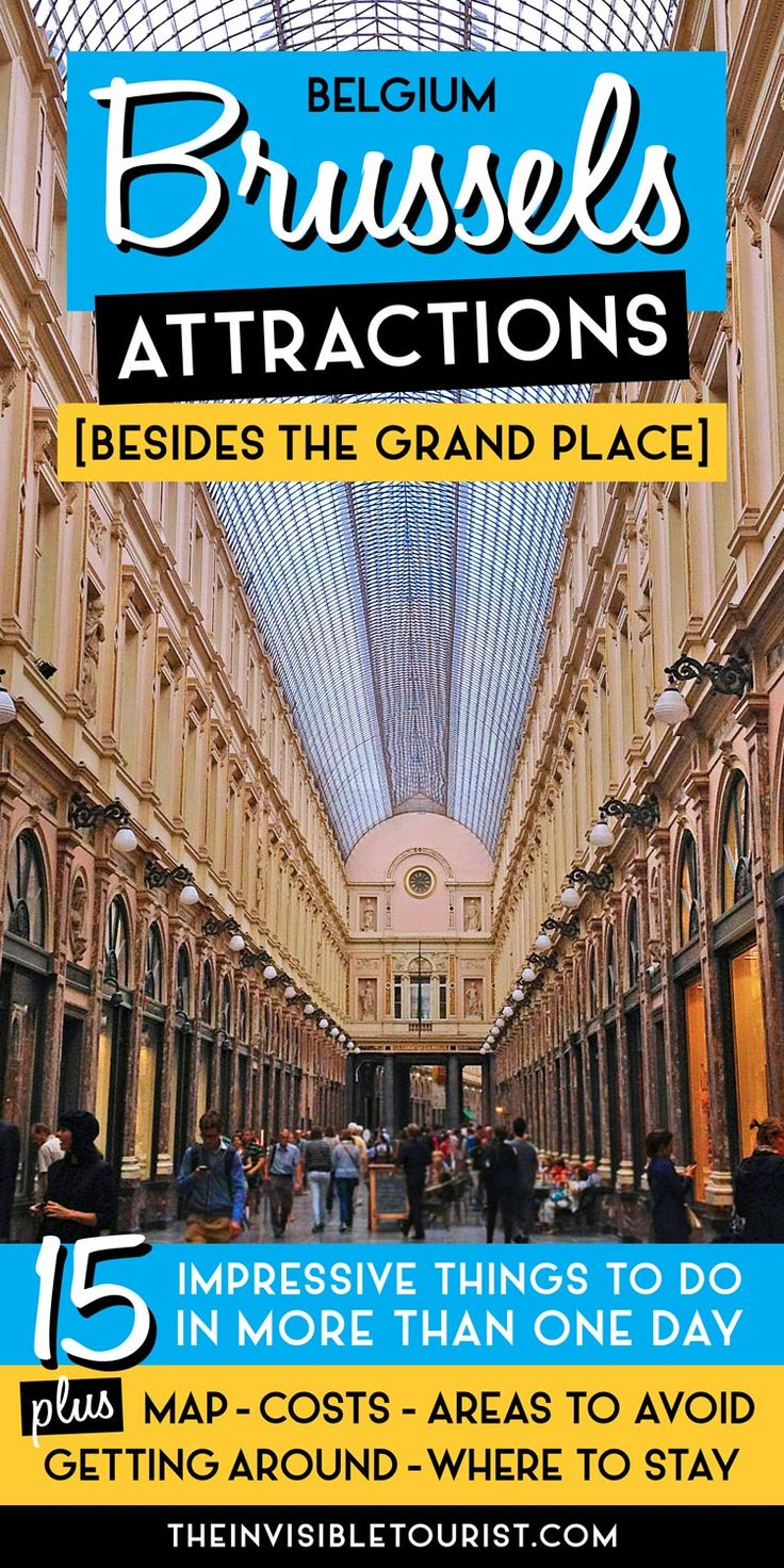 Map Of Paris And Attractions%0A    Impressive Brussels Attractions  Besides the Grand Place