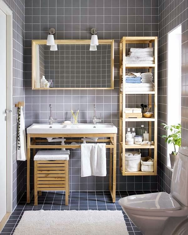 Best Small Bathroom Designs Images On Pinterest - Compact bathroom storage for small bathroom ideas