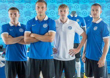 Estonia Kits for EURO 2016 Qualification Campaign