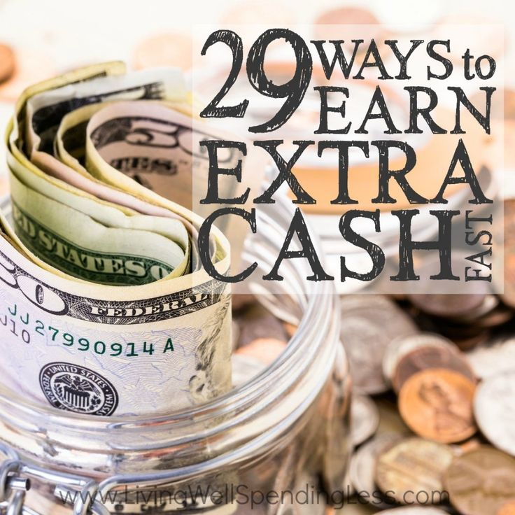 29 Ways to Earn Extra Cash Fast Square 2