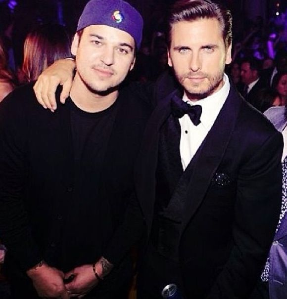 Rob Kardashian and Lord Scott Disick