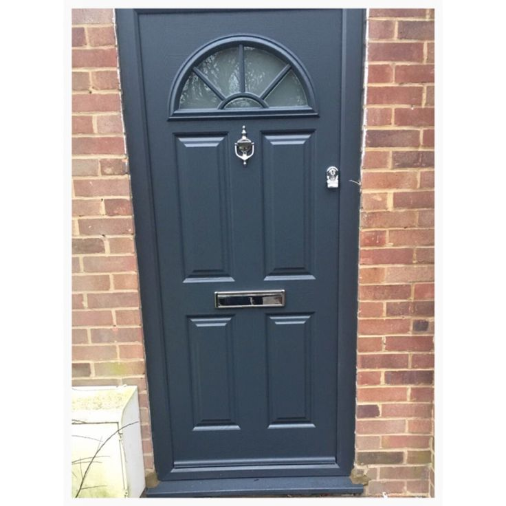 Put a modern twist onto a classic such as our Eiger Georgian with our Anthracite  sc 1 st  Pinterest & 33 best Grey Colour Range images on Pinterest | Range Front doors ... pezcame.com