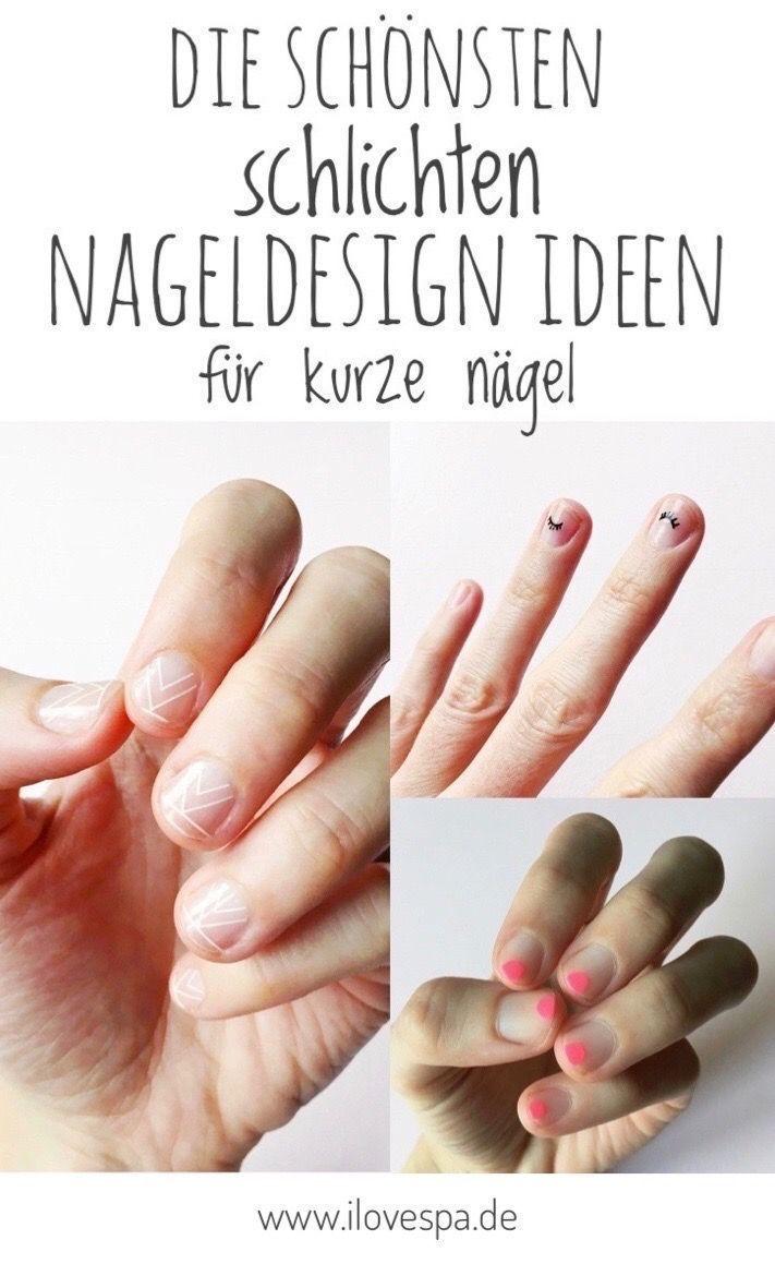 Einfache Nageldesignideen für kurze Nägel – Hier finden Sie alle Designs mit …
