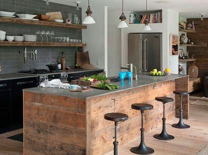 Tendance : le bois revient en cuisine