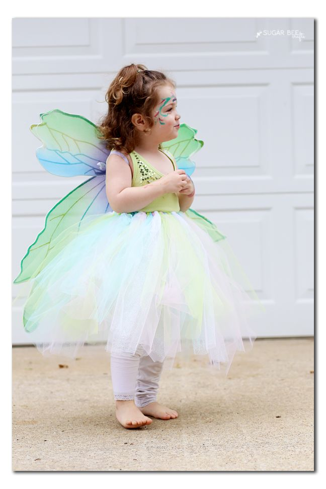 No sew fairy costume via @sugarbeecrafts