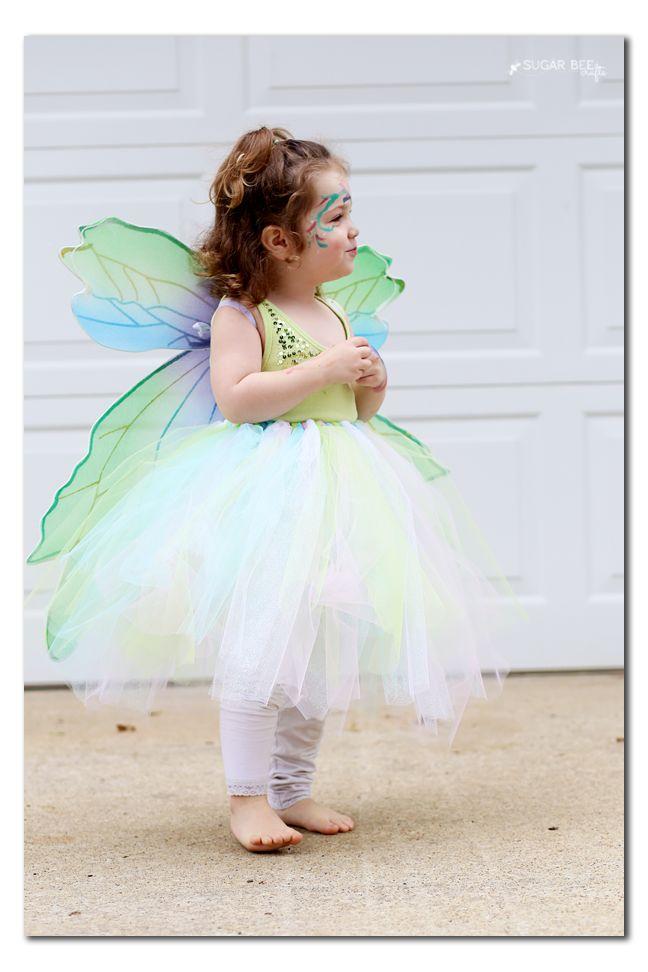 NO-SEW Fairy Costume  8a6c34677c97