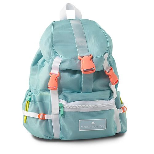 @Stella Menagia McCartney Adidas Backpack - A+ palette Sporty chic is a fall trend I'm diggin already.
