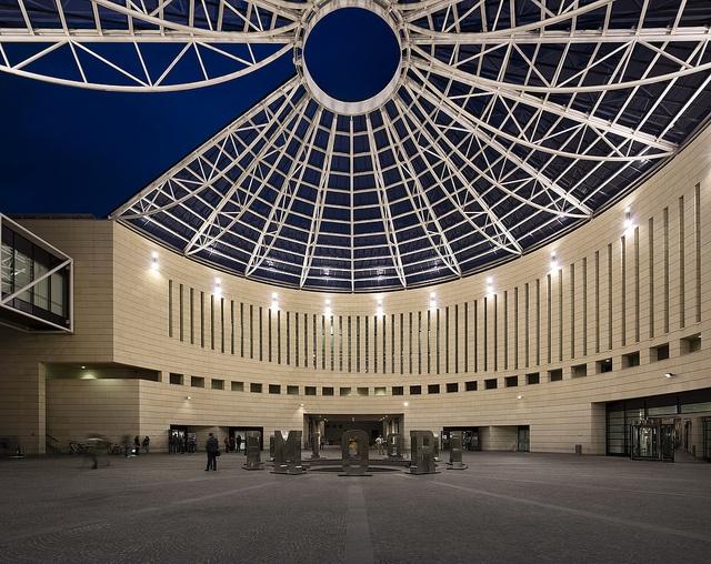 Mart Rovereto by mart_museum, via Flickr  Photo by Fernando Guerra   http://www.mart.tn.it/architettura