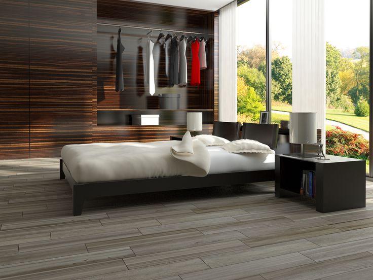 Shop Interceramic Trio Legno Cacao Porcelain Floor Tile (Common: X Actual