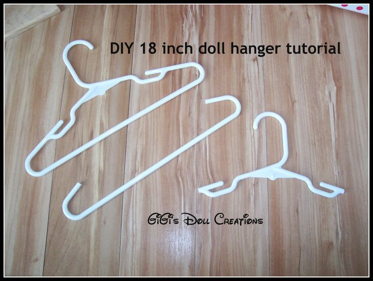 GiGi's Doll and Craft Creations: American Girl Doll Closet and Hanger Tutorial