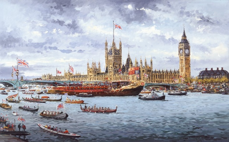 Thames Pageant by Henderson Cisz