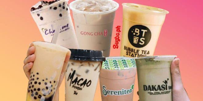 9 Popular Milk Tea Brands In Cebu Sugbo Ph Cebu In 2020 Milk Tea Tea Brands Tea Store