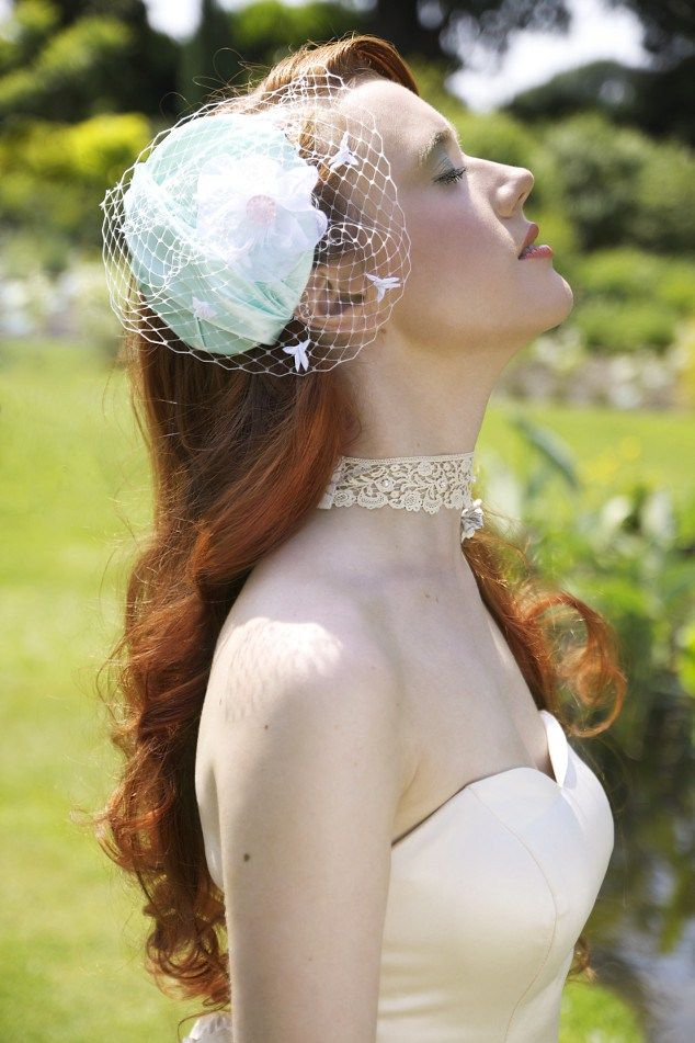 "Quirky Bridal hair accessories from Madame B's Boutique. For more Alternative Wedding inspiration, check out the No Ordinary Wedding article ""20 Quirky Alternatives to the Traditional Wedding""  http://www.noordinarywedding.com/inspiration/20-quirky-alternatives-traditional-wedding-part-4"