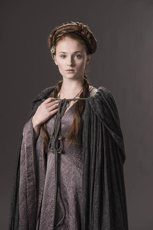Game+of+Thrones+Arya+Stark+and+Nymeria   Sansa Stark - Hielo y Fuego Wiki