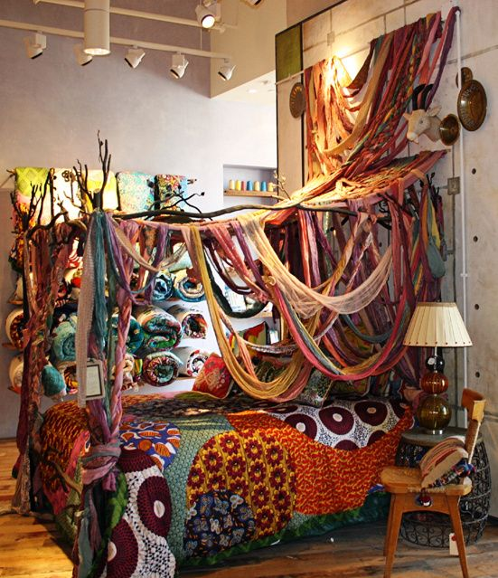 Wow   Bohemian Decor   Might Be A Bit Much For My Room, But Sooo Beautiful