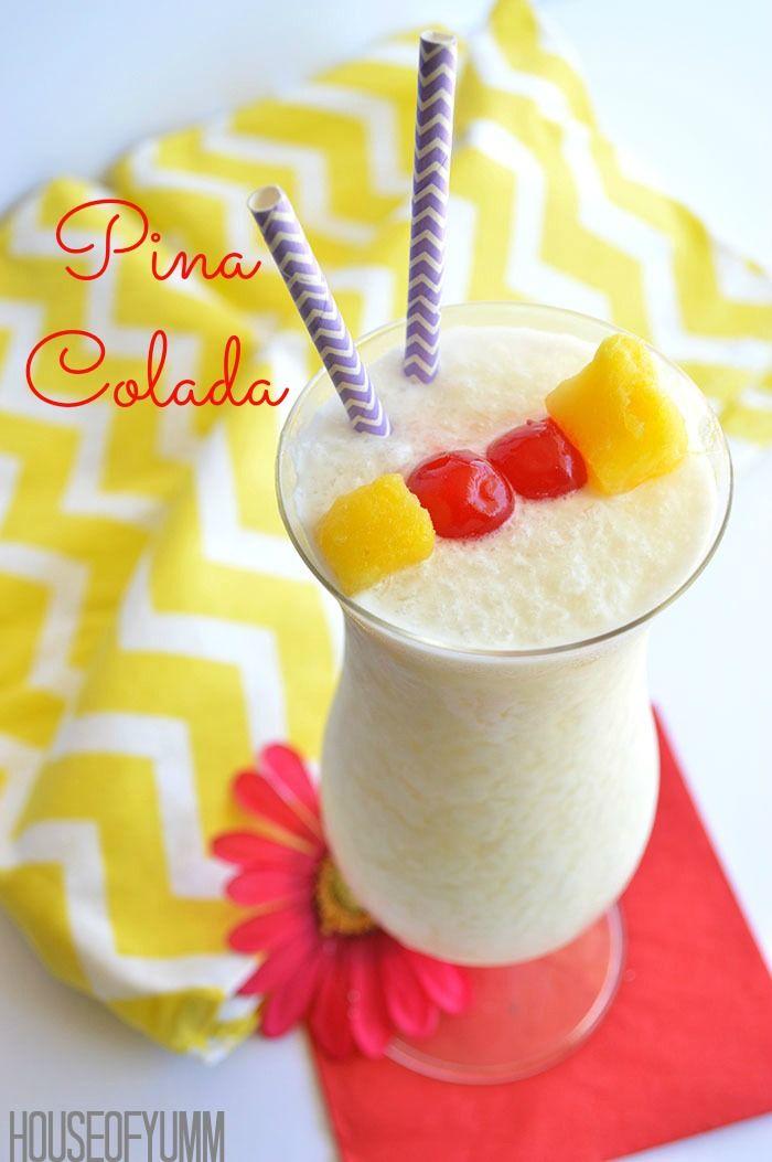 how to make pina colada virgin
