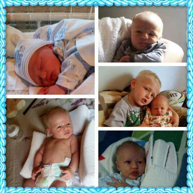 Newcomer in the family-Evandre Smal. Born in September 2015. We Love you!