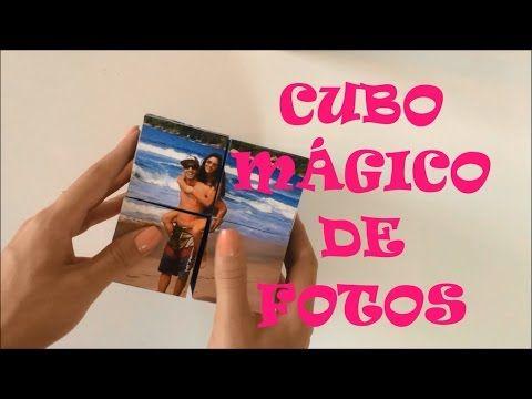 Como hacer un Cubo Magico con fotos para este dia de las madres - YouTube