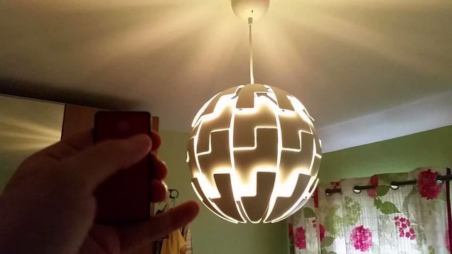 Instructables user AudriusA1 shows us how to create this unique ceiling lamp that sort of looks like the Death Star from Star Wars.