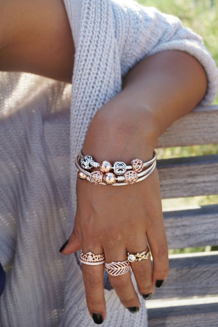 The warm glow of PANDORA Rose is unparalleled.