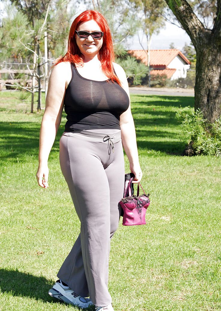 You redhead natural knickers