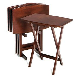 11 best tv trays images on Pinterest | Tv tables, Occasional tables ...